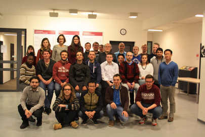 Group picture of the members of the research training school